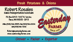 Easterday Farms Business Cards