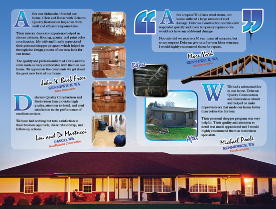 Delarm's Quality Construction Brochure Inside